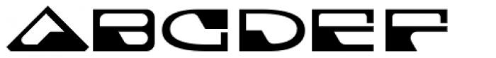 Cortina Base Font UPPERCASE
