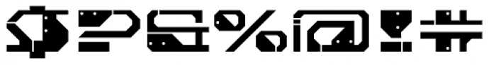 Cortina Plate Font OTHER CHARS