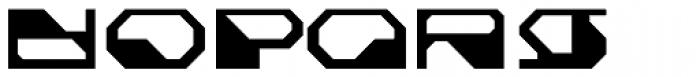 Cortina Slate Font UPPERCASE