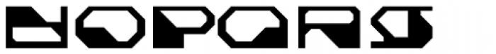 Cortina Slate Font LOWERCASE