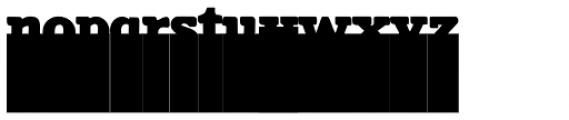 Cortinado Font LOWERCASE