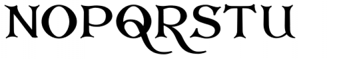 Corton Bold Font UPPERCASE
