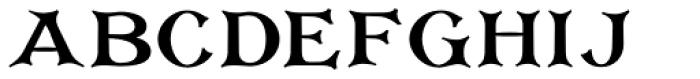 Corton Bold Font LOWERCASE