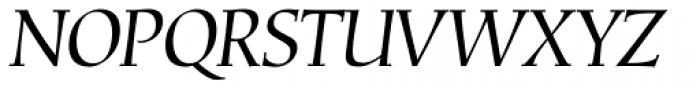 Corvallis Std Oblique Font UPPERCASE