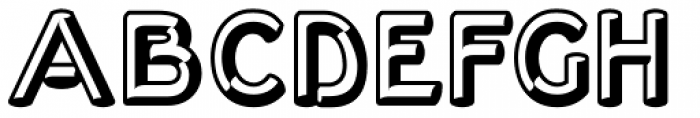 Corvone Font UPPERCASE