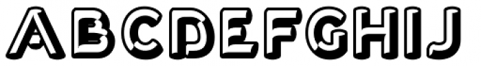 Corvone Font LOWERCASE