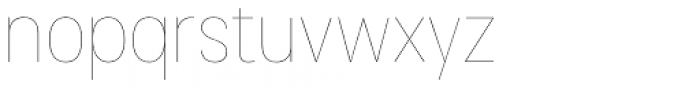 Cosima Hairline Font LOWERCASE