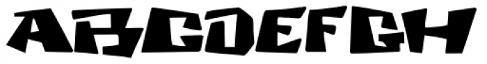 Cosmic Dude Font UPPERCASE