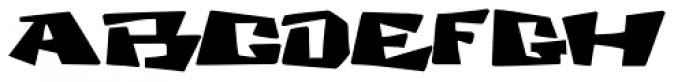 Cosmic Dude Font LOWERCASE