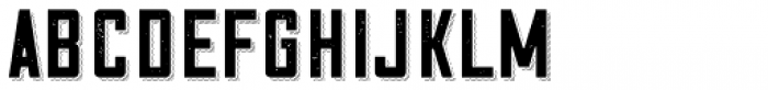 Cosmic Lager Shadow Texture Font LOWERCASE