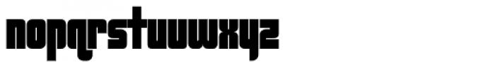Cosmic Font LOWERCASE
