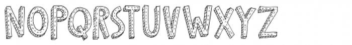 Cosmo Stitch Font LOWERCASE