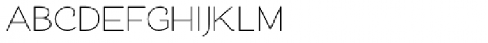 Cosmopolitan Sans Medium Font UPPERCASE