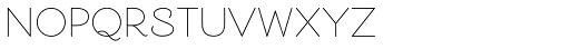 Cosmopolitan Sans Regular Font UPPERCASE