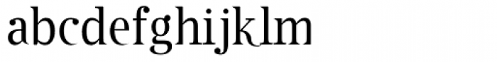 Cothral Font LOWERCASE