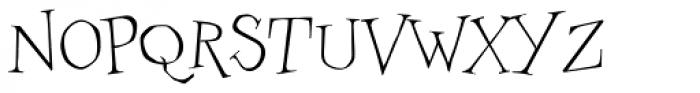 Couchlover Light Font UPPERCASE