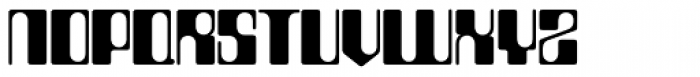 Countdown SH Regular Font UPPERCASE
