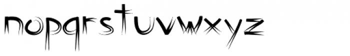 Counterfact Font LOWERCASE