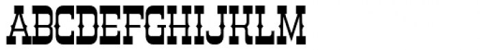 Country Store Font UPPERCASE