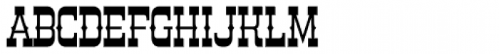 Country Store Font LOWERCASE