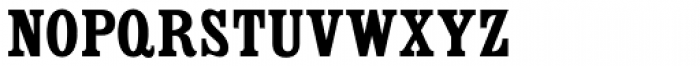 Country Western Black SC Font LOWERCASE