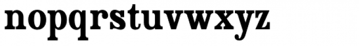 Country Western Black Font LOWERCASE