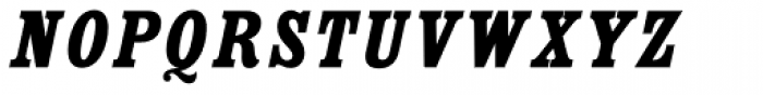 Country Western Italic Fill Font UPPERCASE