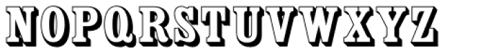 Country Western Open Font UPPERCASE