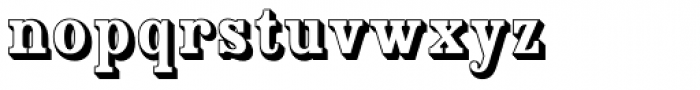 Country Western Open Font LOWERCASE