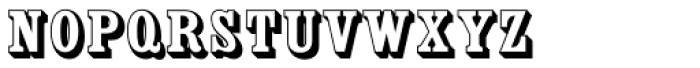 Country Western SC Open Font LOWERCASE
