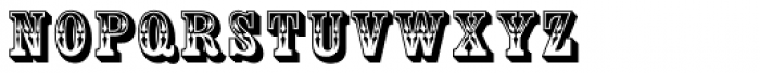 Country Western SC Font LOWERCASE