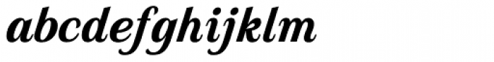 Country Western Script Black Font LOWERCASE