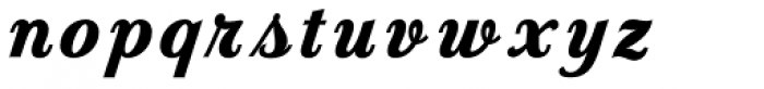 Country Western Script Fill Font LOWERCASE