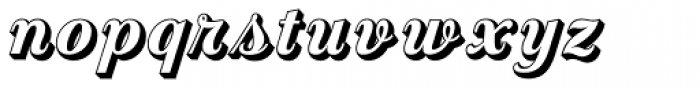 Country Western Script Open Font LOWERCASE