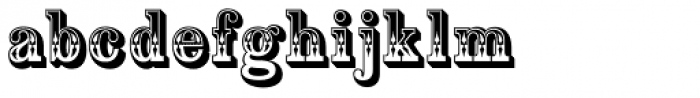 Country Western Font LOWERCASE