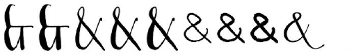 Couple Vol1 Font LOWERCASE
