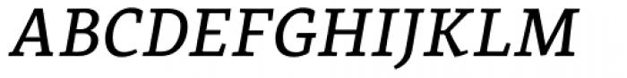 Coupler Medium Italic Font UPPERCASE