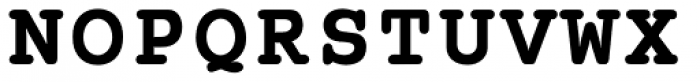 Courier B EF Bold Font UPPERCASE