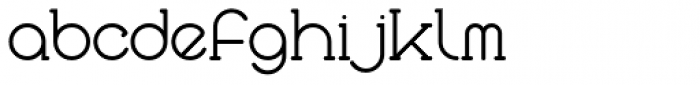 Courier Coco Font LOWERCASE