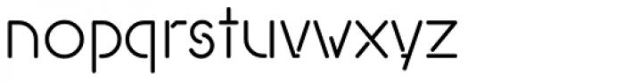Covent BT Light Font LOWERCASE