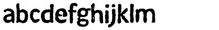 Coventry Medium Font LOWERCASE
