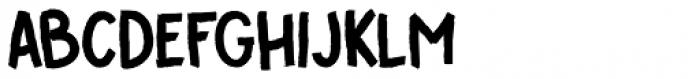 Cover Up Regular Font UPPERCASE