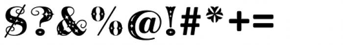Cowboya Deco Font OTHER CHARS