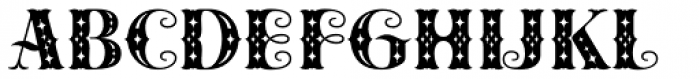 Cowboya Deco Font UPPERCASE