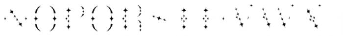Cowboya Star Font UPPERCASE