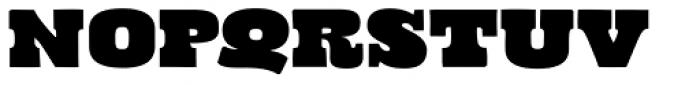 Cowboyslang Expanded Font UPPERCASE