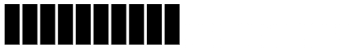 Cozza Numero Font OTHER CHARS