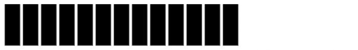 Cozza Numero Font UPPERCASE