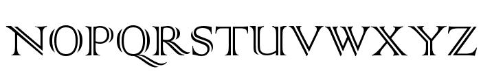 Colonna MT Font UPPERCASE