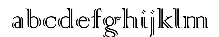 Colonna MT Font LOWERCASE